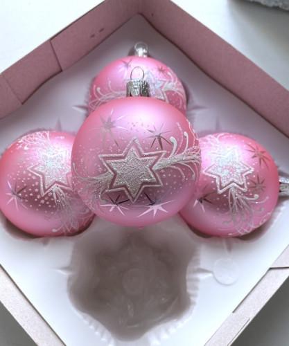 Vánoční hvězda růžová