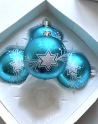 Vánoční hvězda tyrkysová
