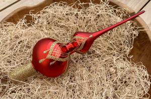 Náhrdelník červený - špice