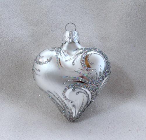 Ornament hologram - srdce