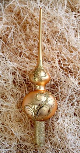 Zlatý ornament - špice
